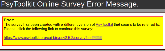 wrong survey error